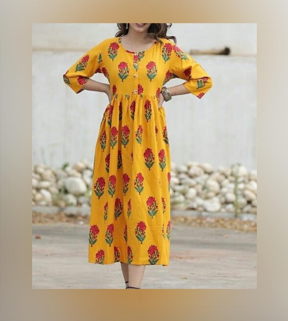 Long cotton gowns