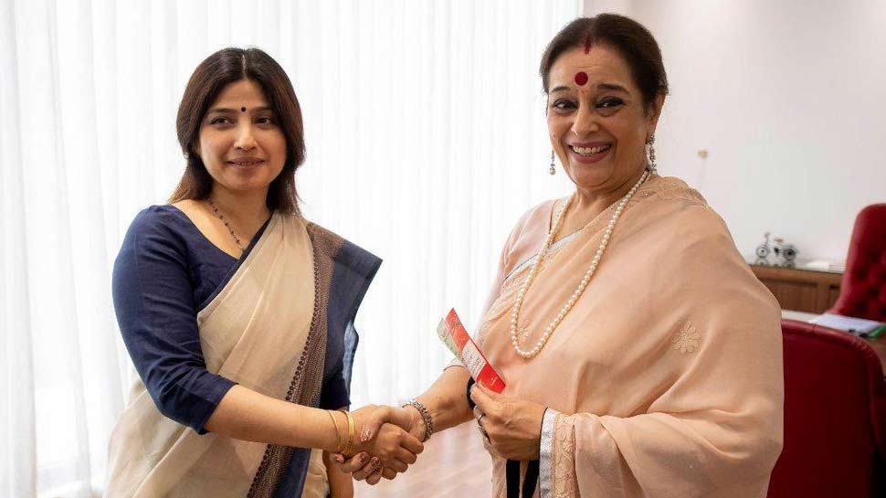 Poonam Sinha Joins samajwadi party