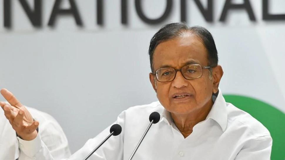 लोकसभा चुनाव : चिदंबरम ने आयकर विभाग पर लगाया तमिलनाडु में पक्षपातपूर्ण कार्रवाई का आरोप