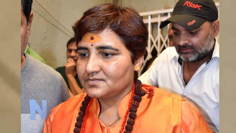 भोपाल से टिकट मिलने पर बोलीं साध्वी प्रज्ञा, 'धर्म की जीत होगी, अधर्म का नाश होगा'