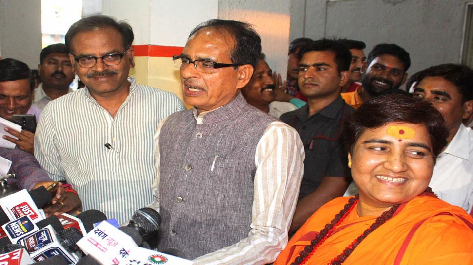 साध्वी प्रज्ञा को टिकट मिलने पर बोली कांग्रेस, 'BJP से और क्या उम्मीद कर सकते हैं?'
