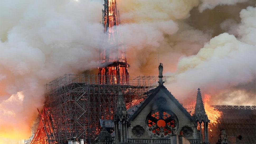 इस चर्च में आग लगने से पूरी दुनिया दुखी, दोबारा बनाने के लिए 2 दिन में इकट्ठा हुआ 1 अरब डॉलर