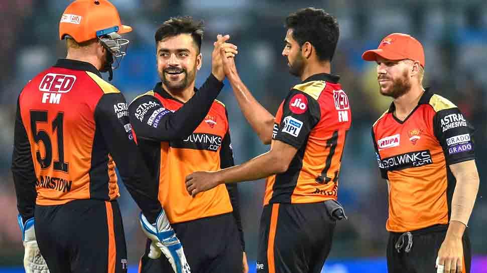 IPL-12: चेन्नई को महंगा पड़ा धोनी का 'रेस्ट', हैदराबाद ने दी करारी शिकस्त