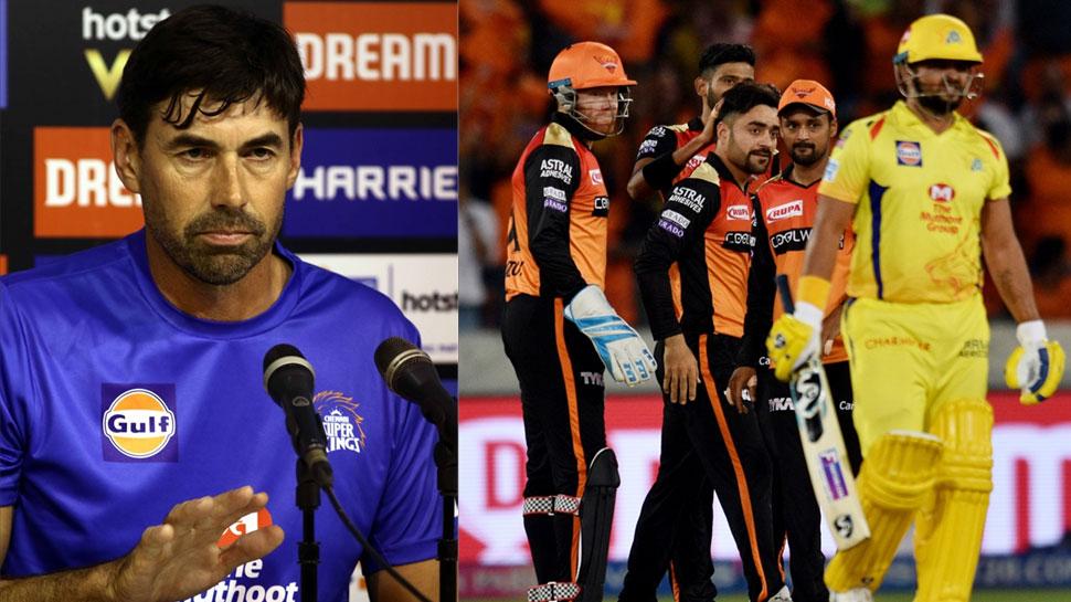 IPL 2019: चेन्नई के चाणक्य ने बताया, कैसे उबरेगी हैदराबाद के खिलाफ हार से उनकी टीम