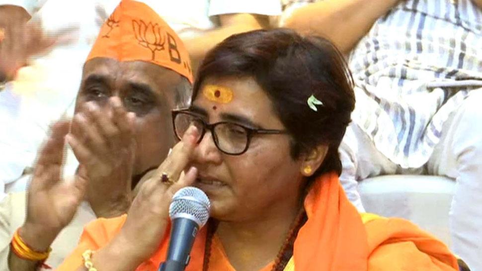 लोकसभा चुनाव 2019: साध्वी प्रज्ञा ने फिर साधा निशाना, 'दिग्विजय सिंह ने मुझसे बदला लिया'
