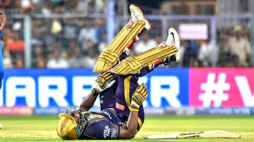 IPL-12: आंद्रे रसेल की चोट ने बढ़ाई केकेआर की चिंता, बेंगलुरू के खिलाफ खेलना मुश्किल