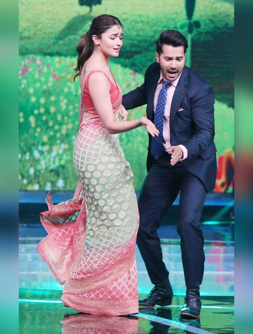 Alia Bhatt with Varun