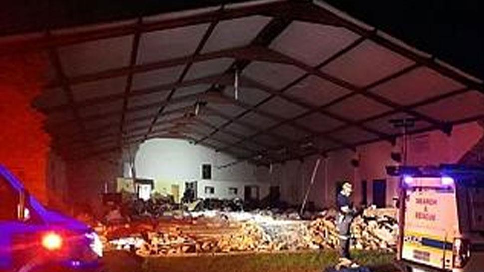 दक्षिण अफ्रीका में प्रार्थना के दौरान ढह गया गिरजाघर, 13 लोगों की मौत