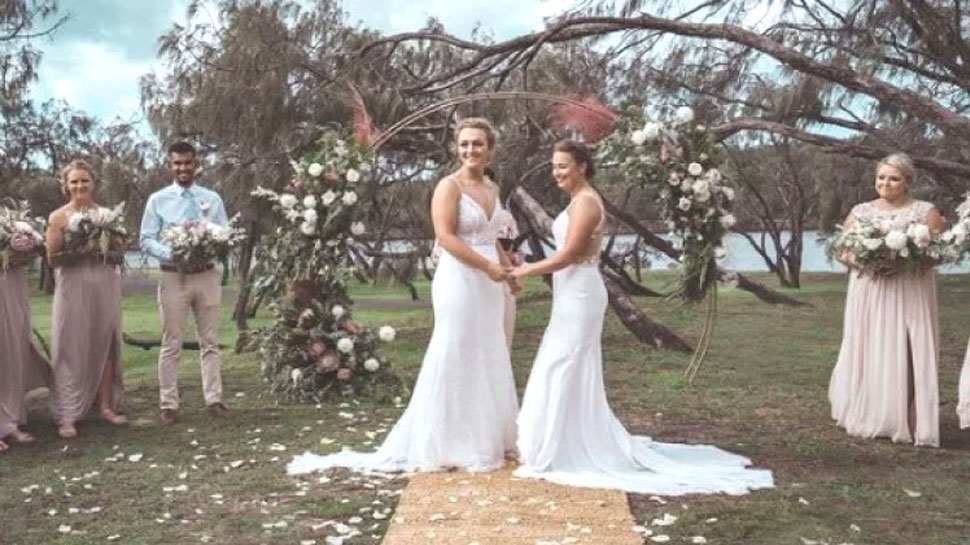 Haley Jensen married with Nicola Hancock