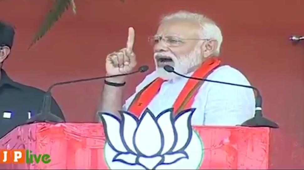 मायावती को PM मोदी ने दिया करारा जवाब-हार देखकर मेरे पिछड़ेपन का सर्टिफिकेट बांट रहे हैं