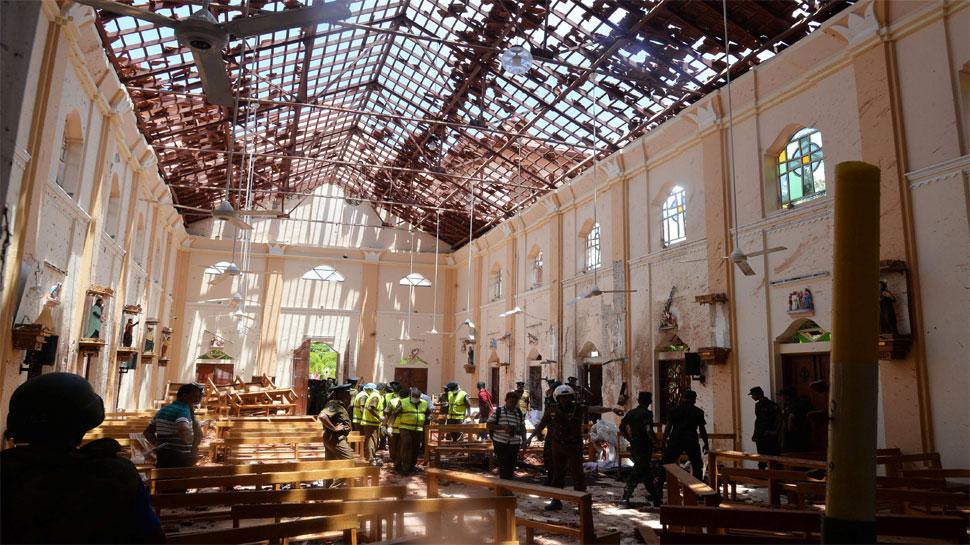 श्रीलंका: तबाही मचाने से पहले नाश्ते के लिए लाइन में लगा था हमलावर, प्लेट में खाना लेते ही दबा दिया बटन