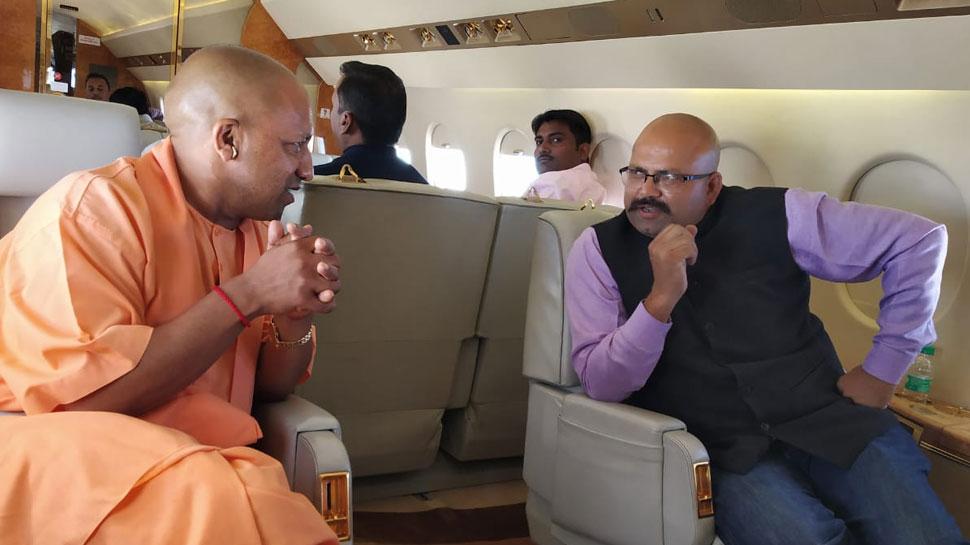 Exclusive बातचीत में बोले योगी आदित्यनाथ, 'मायावती-अखिलेश के गठबंधन से मुकाबला नहीं है'