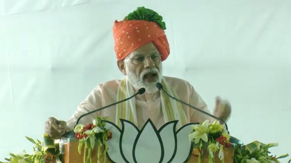 जोधपुर में बोले PM मोदी-पाक से आए हिंदू शरणार्थियों को हम नागरिकता देने वाले हैं