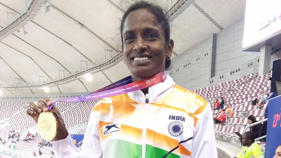 एशियाई एथलेटिक्स: गोमती ने भारत को दिलाया पहला गोल्ड मेडल, शिशुपाल ने सिल्वर