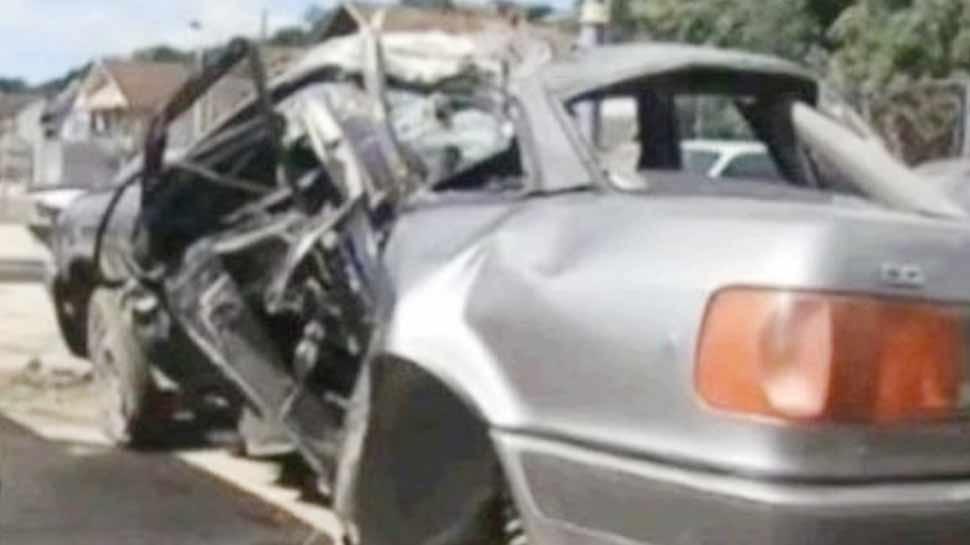 मध्य प्रदेश के हरदा में डंपर और कार में टक्कर, 4 की मौत, एक की हालत गंभीर