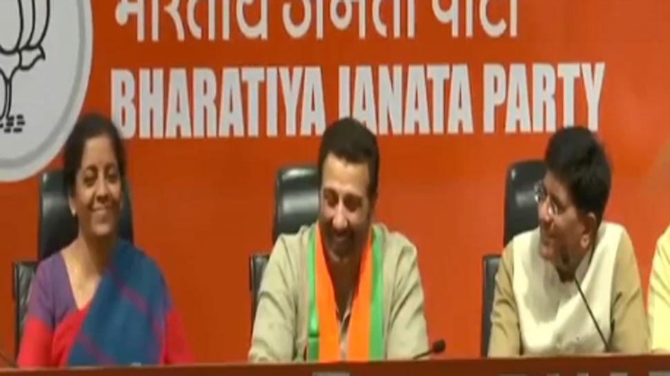 ...सनी देओल अपना ढाई किलो वाला भाषण दें, 'BJP की प्रेस कॉन्फ्रेंस में इंट्रोडक्शन सुन हंस पड़े सनी'