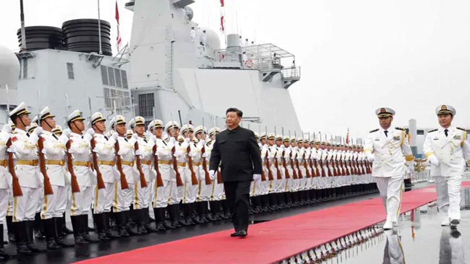 चीनी नौसेना की परेड में शामिल हुआ भारत का सबसे विध्वंसक पोत, पाकिस्तान दूर से देखता रहा