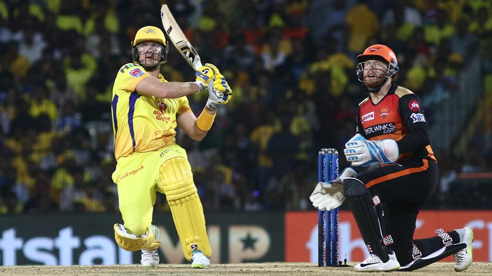 IPL 2019, CSKvSRH: चेन्नई प्लेऑफ में पहुंचने वाली पहली टीम बनी, हैदराबाद को 6 विकेट से हराया