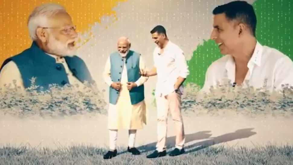 VIDEO: बॉलीवुड के खिलाड़ी कुमार ने लिया पीएम मोदी का इंटरव्यू, शेयर किया प्रोमो