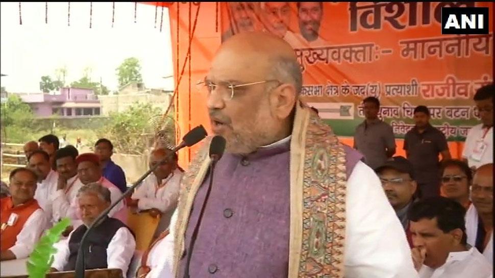 पुलवामा के बाद PAK ने सीमा पर तोपें लगा दीं, लेकिन PM मोदी भी 56 इंच के सीने वाले हैं: अमित शाह