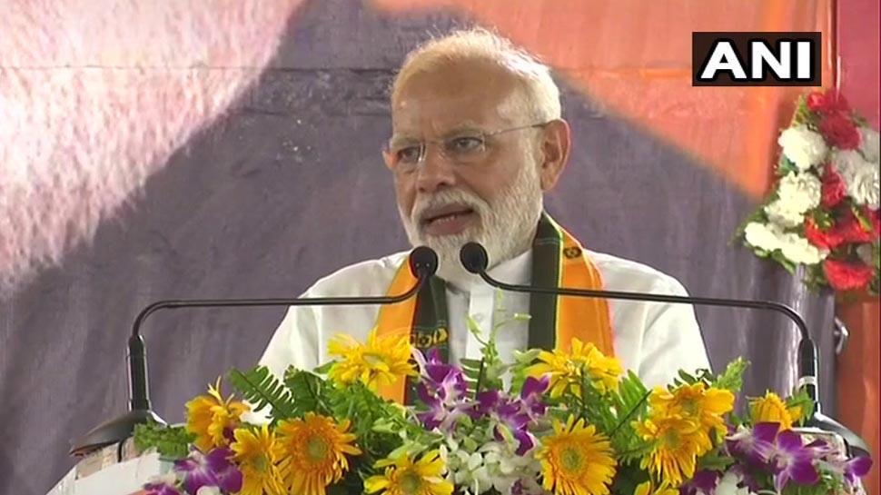 वाराणसी: PM मोदी ने रैली में लोगों से कहा, आप कहेंगे तो मैं नामांकन भरूंगा, मिला ये जवाब