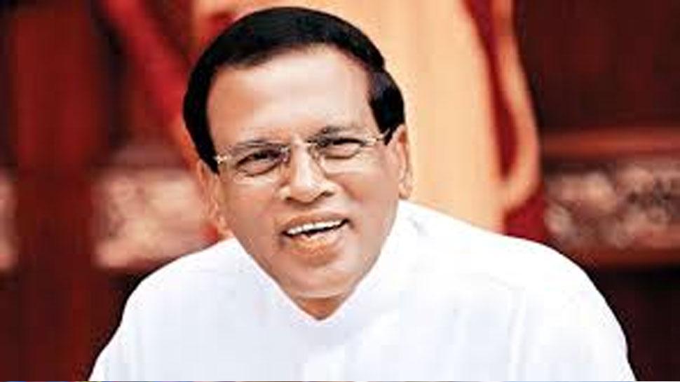 बम विस्फोटों के कारण श्रीलंका पुलिस प्रमुख ने दिया इस्तीफा: मैत्रीपाला सिरिसेना