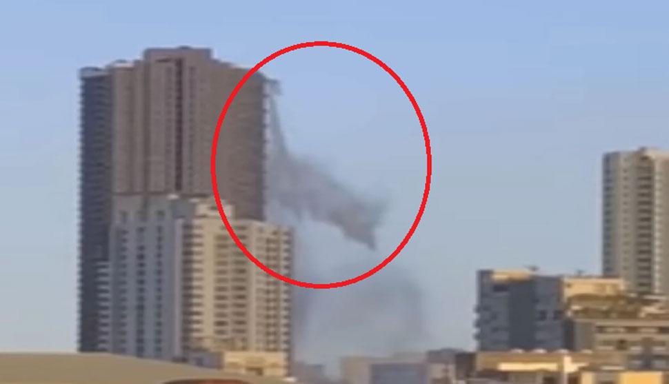VIDEO: बिल्डिंग की 53वीं मंजिल पर था स्विमिंग पूल, भूकंप आया तो हुआ ऐसा हाल कि...