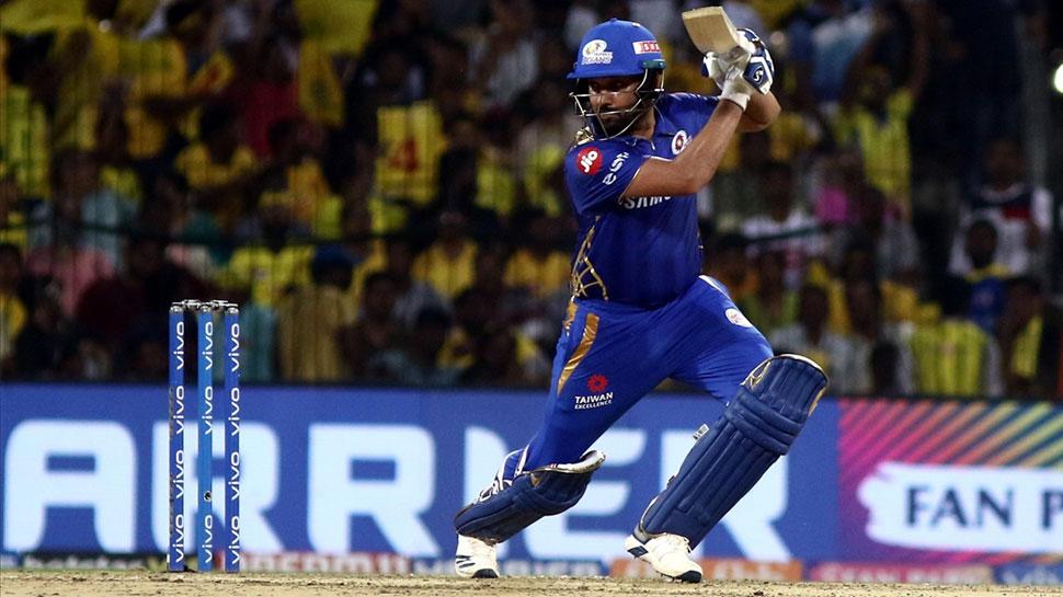 VIDEO: रोहित शर्मा ने छक्के मार कर की ऐसी वापसी, बन गए चेन्नई के खिलाफ जीत के हीरो