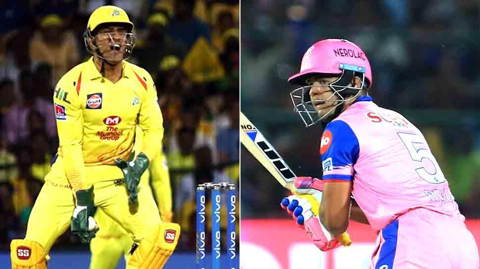 IPL-12: एमएस धोनी ने पहले पिता और अब बेटे का किया 'शिकार'