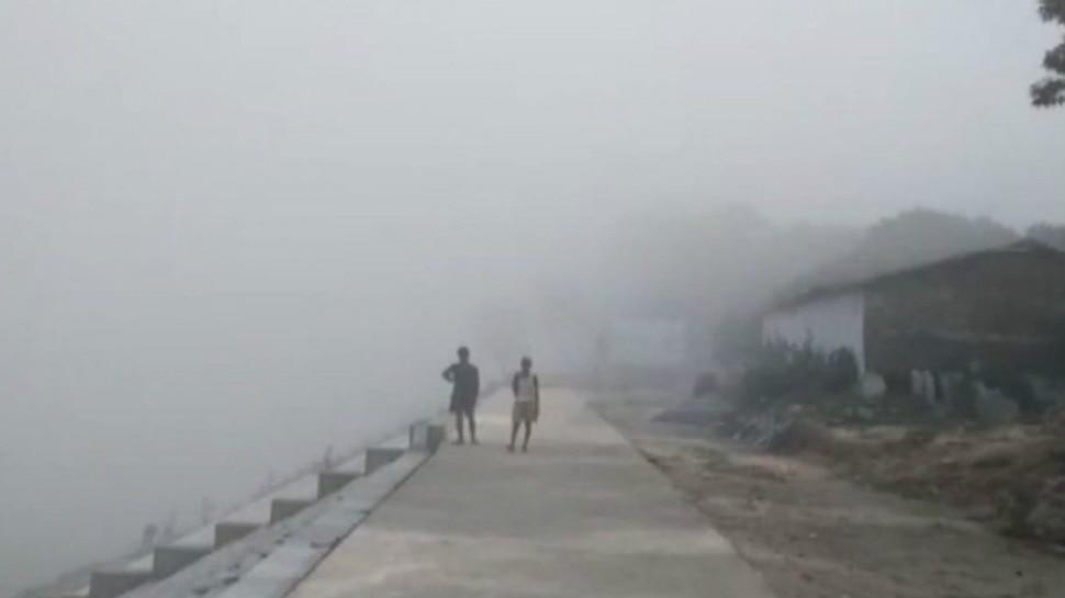 पटना: अप्रैल की गर्मी में दिखा दिसंबर जैसा कुहासा, लोगों के उड़े होश