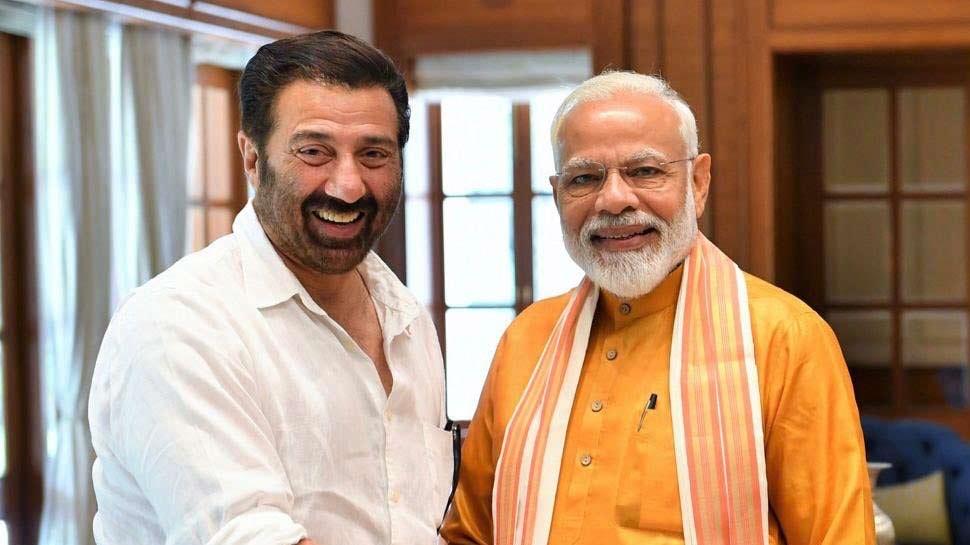 PM मोदी ने सनी देओल के साथ शेयर की फोटो, बोले- 'हिन्दुस्तान जिंदाबाद था, है, और...'