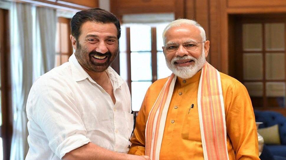 PM मोदी सनी देओल से मिले, गदर का डॉयलाग दोहराया- 'हिंदुस्तान जिंदाबाद है, था और रहेगा'
