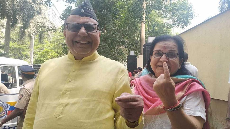 राज्यसभा सांसद डॉ. सुभाष चंद्रा ने किया मतदान, कहा- 'युवाओं को आगे आकर वोट करना चाहिए'