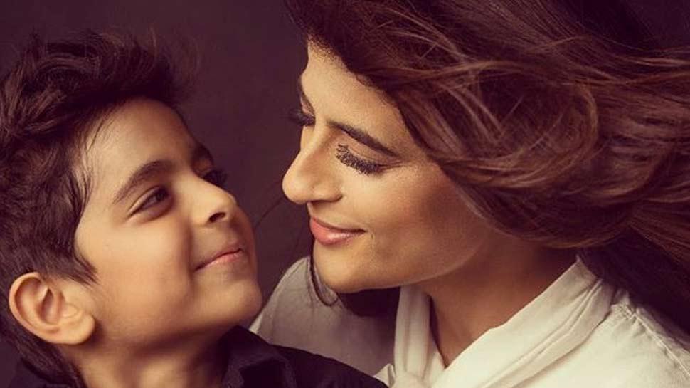 कैंसर पर ताहिरा कश्यप ने शेयर किया इमोशनल पोस्ट, बोलीं- '7 साल के बेटे ने दिया हौसला'