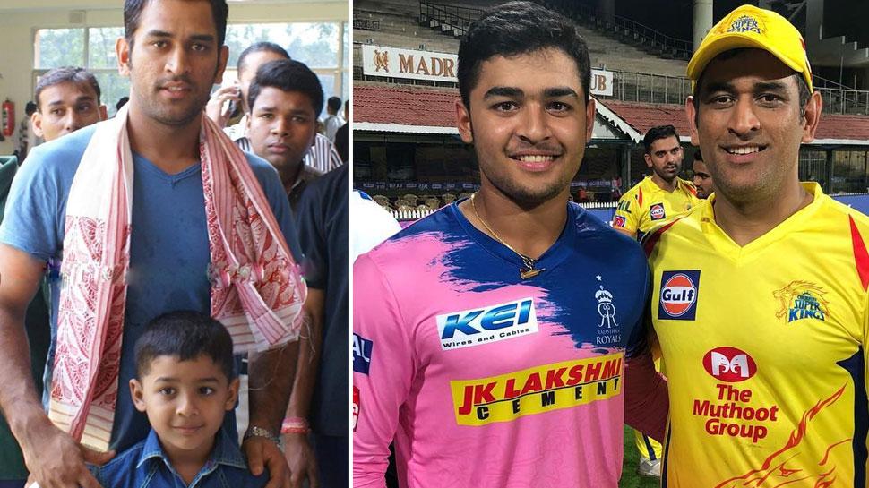 3 साल की उम्र में पहली बार धोनी से मिले थे, क्रिकेटर रियान ने खोले और भी नए राज