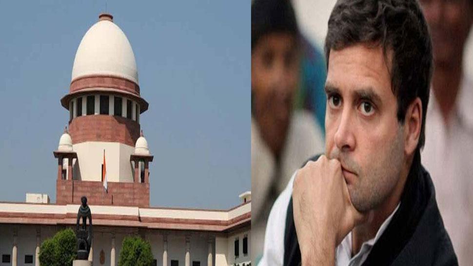 सुप्रीम कोर्ट ने लगाई राहुल गांधी को फटकार, 'आप हलफनामे में कहना क्या चाहते हैं'