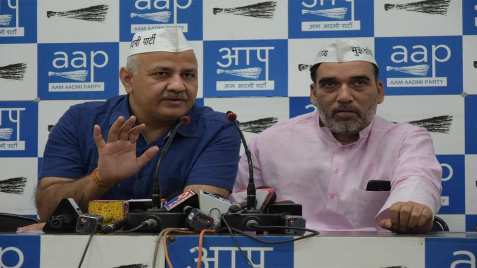 AAP का बड़ा आरोप,'10-10 करोड़ में हमारे विधायकों को खरीदने की कोशिश कर रही है BJP'