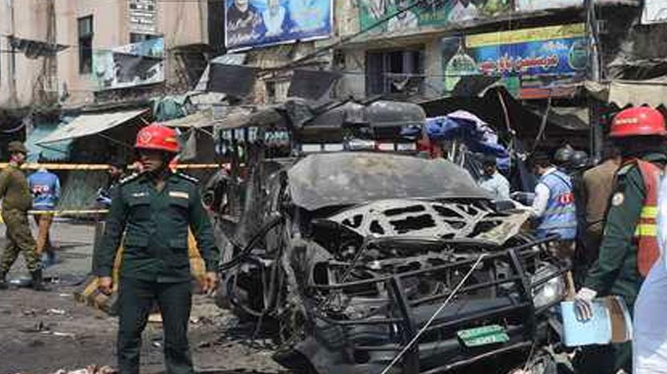पाकिस्तानः लाहौर आत्मघाती हमले में मरने वालों की संख्या बढ़ कर हुई 11