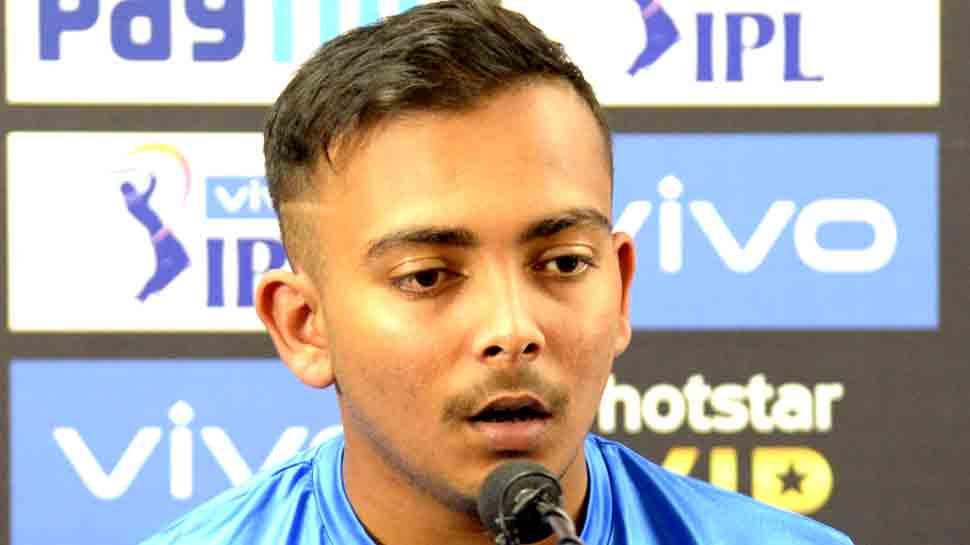 IPL-12: पृथ्वी शॉ ने भरी हुंकार- चेन्नई के चैलेंज के लिए तैयार है दिल्ली