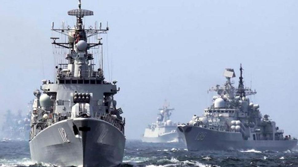 चीन की नौसेना में शामिल हुए दो नये निर्देशित मिसाइल विध्वंसक पोत