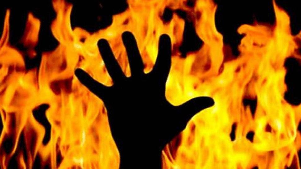 दर्दनाक... झोपड़ी में लगी आग, जिंदा जली डेढ़ साल की मासूम, दो ग्रामीण झुलसे