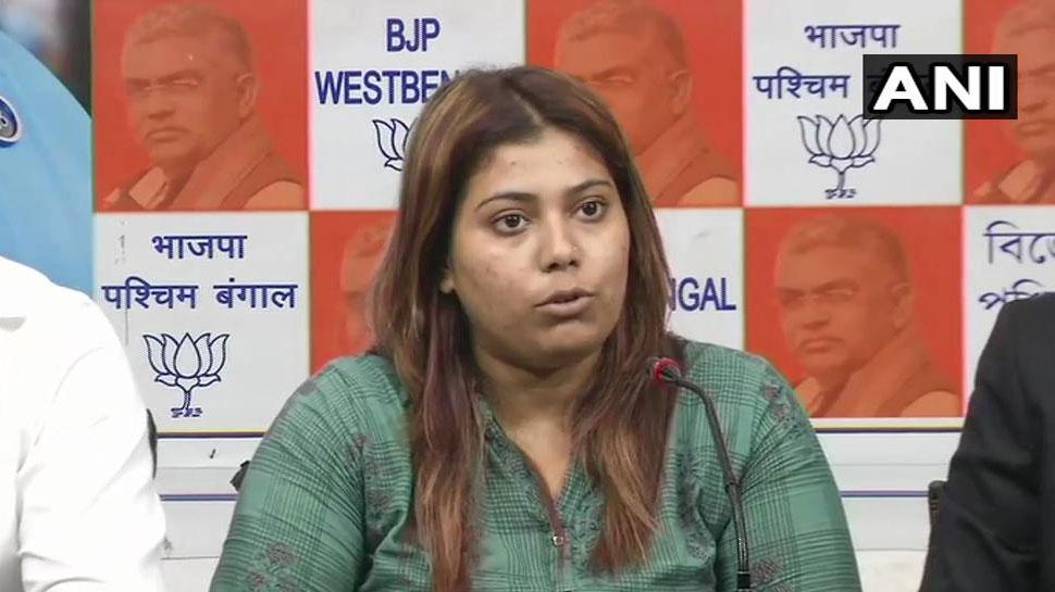 BJP नेता प्रियंका शर्मा बोलीं- 'जेलर ने मुझे जेल के अंदर धक्का दिया, जबरन लिखवाया माफीनामा'
