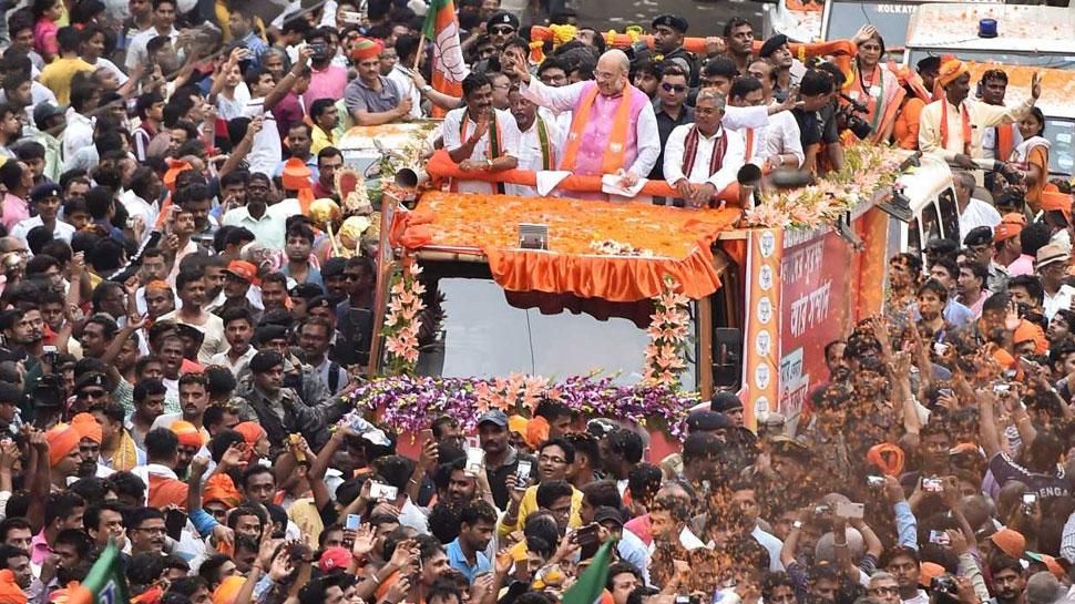 प.बंगाल: चुनावी हिंसा को देखते हुए अमित शाह की सुरक्षा में तैनात किए गए थे 25 कमांडो