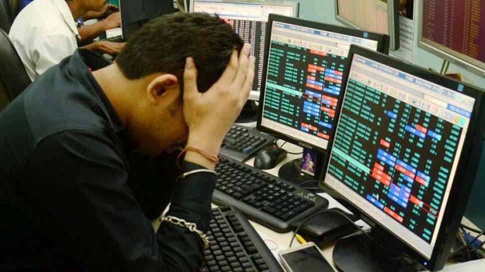 आम चुनाव की अनिश्चितताओं को लेकर निवेशकों में संशय, Sensex 204 अंक टूटा