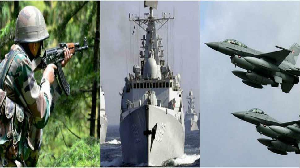 दुश्मन को मुंहतोड़ जवाब देगी सेना की यह नई कमान, जानिए क्या है सेना का जल-थल-नभ प्लान