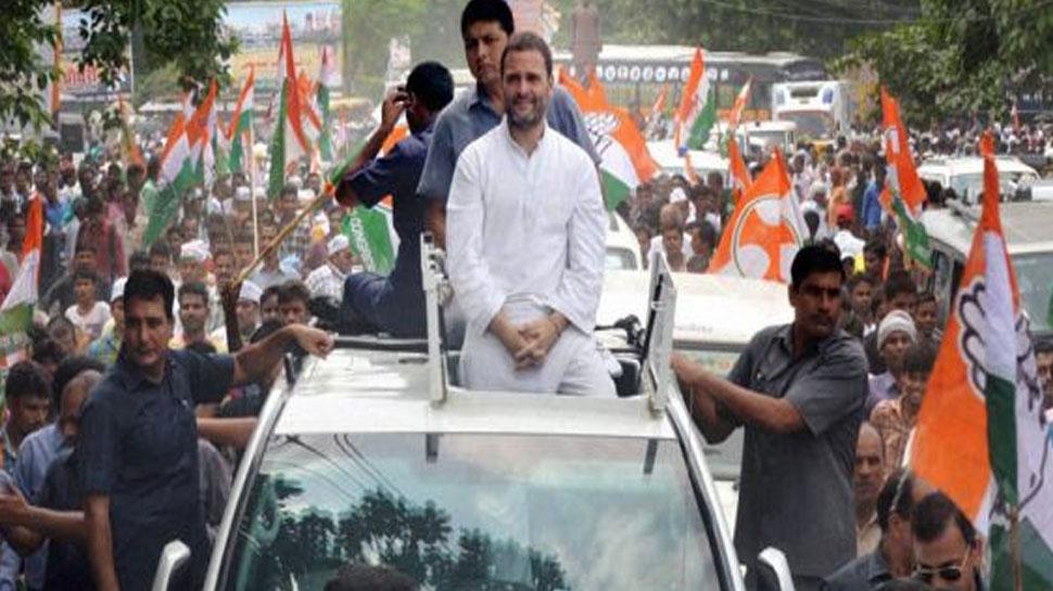कांग्रेस का आरोप, राहुल गांधी का रोड शो रोकना चाहती है BJP, दिल्ली से लगा रही अड़ंगा