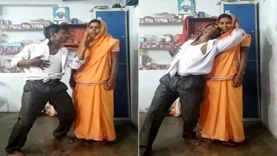 बॉलीवुड के सुपरहिट सॉन्ग पर कपल ने किया ऐसा रोमांस की वीडियो हो गया Viral