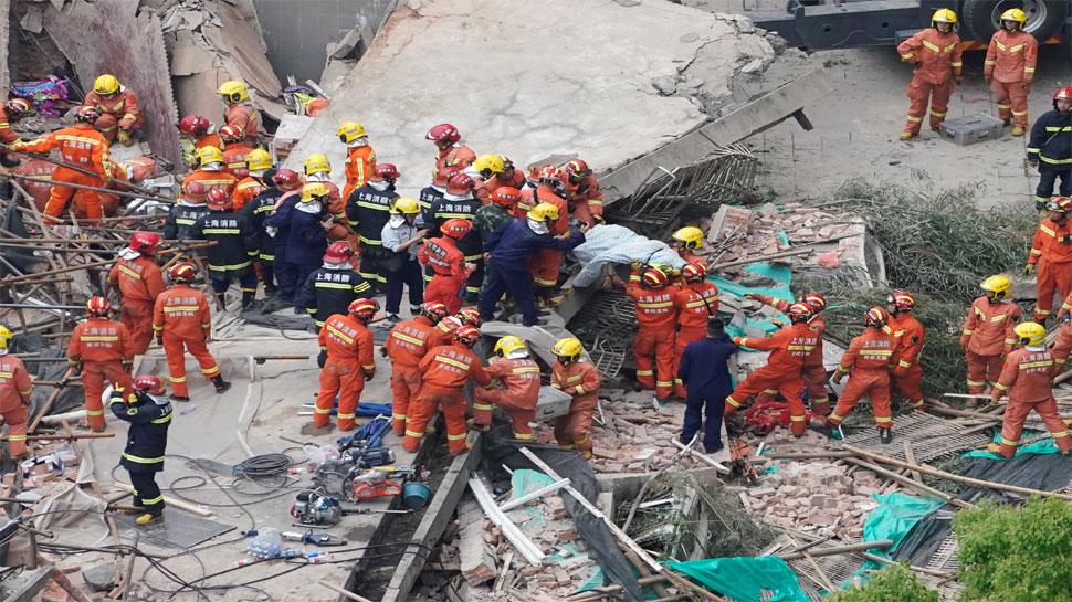 चीन में कारखाने की दीवार गिरी, अब तक 10 लोगों की मौत की पुष्टि