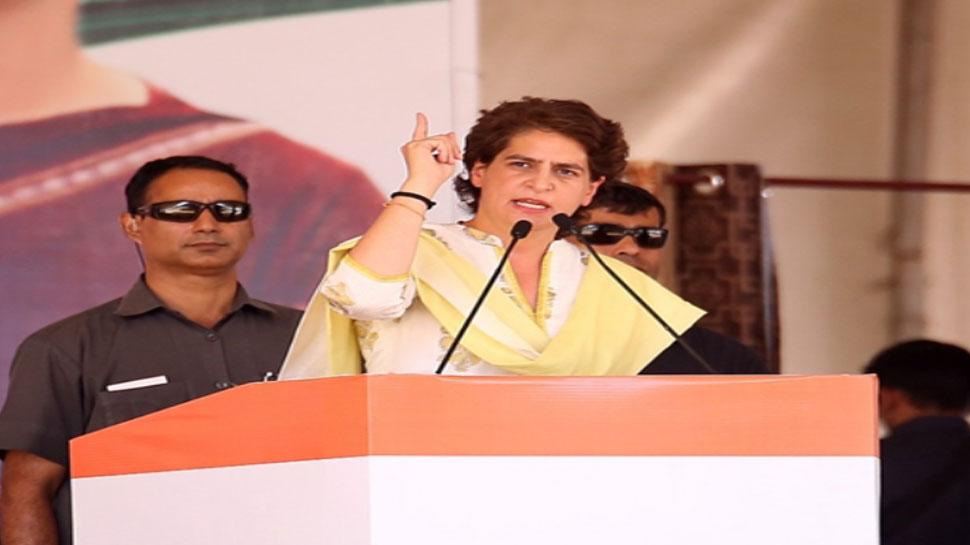 अच्छा होता आपने अमिताभ बच्चन को ही प्रधानमंत्री बना दिया होता: रोड शो में लोगों से बोलीं प्रियंका गांधी