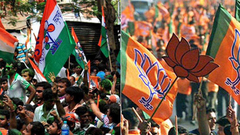 वोटिंग से 1 दिन पहले प.बंगाल में चुनावी हिंसा, BJP-TMC के कार्यकर्ताओं के बीच चले लाठी-डंडे
